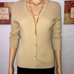 🌼Old Navy🌼 sweater botton up LOVELY TAN SMALL